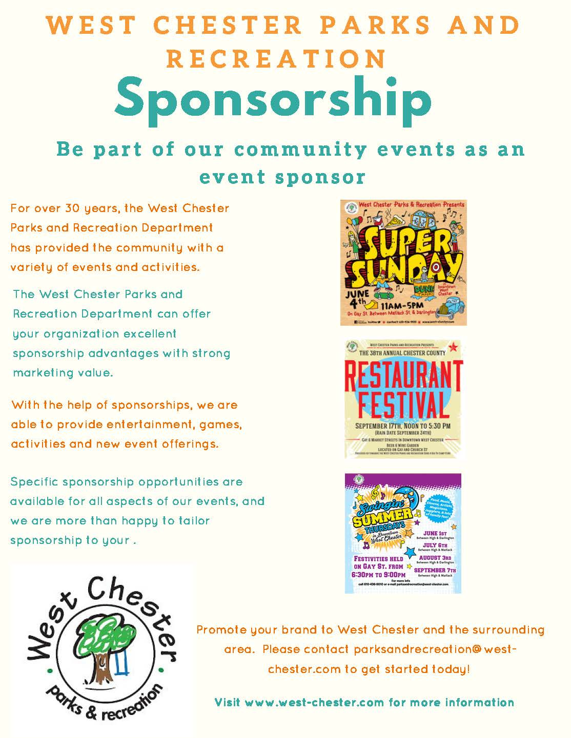 Sponsorship Info Graphic