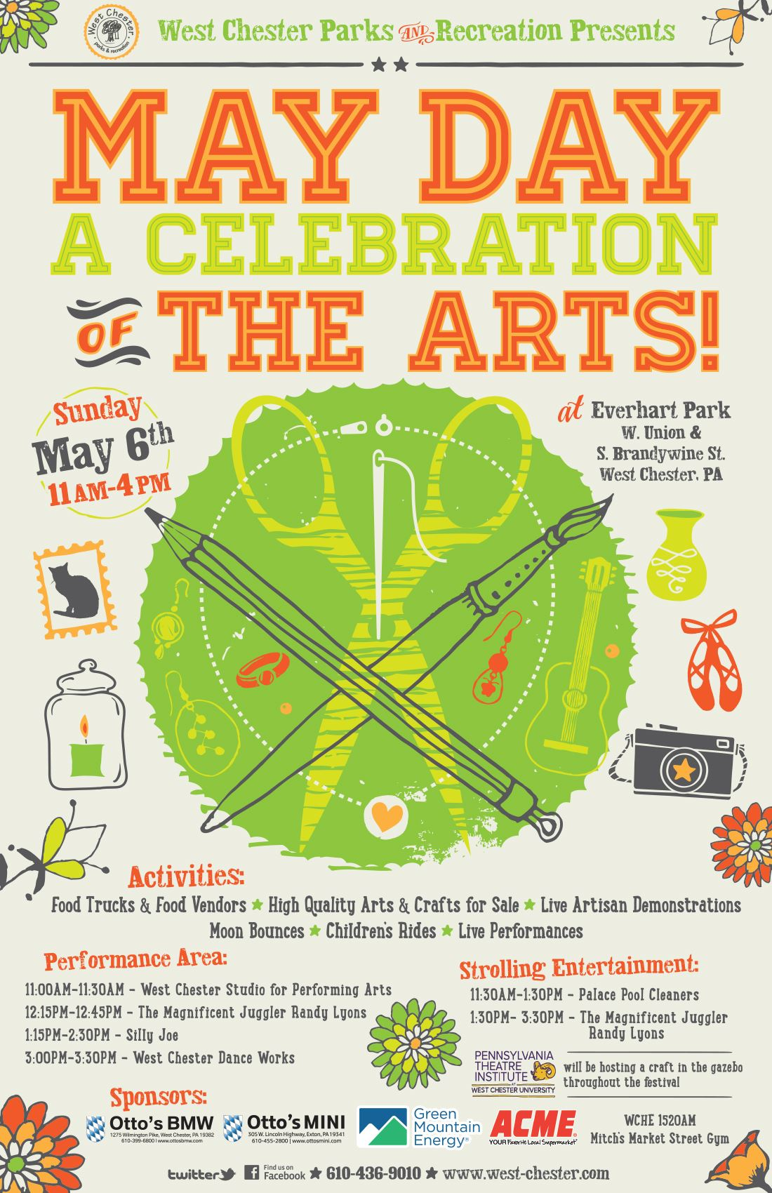 May Day A Celebration of the Arts poster