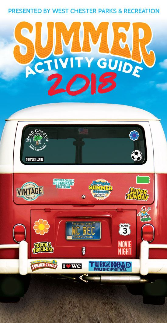 Summer Activity Guide 2018 Cover