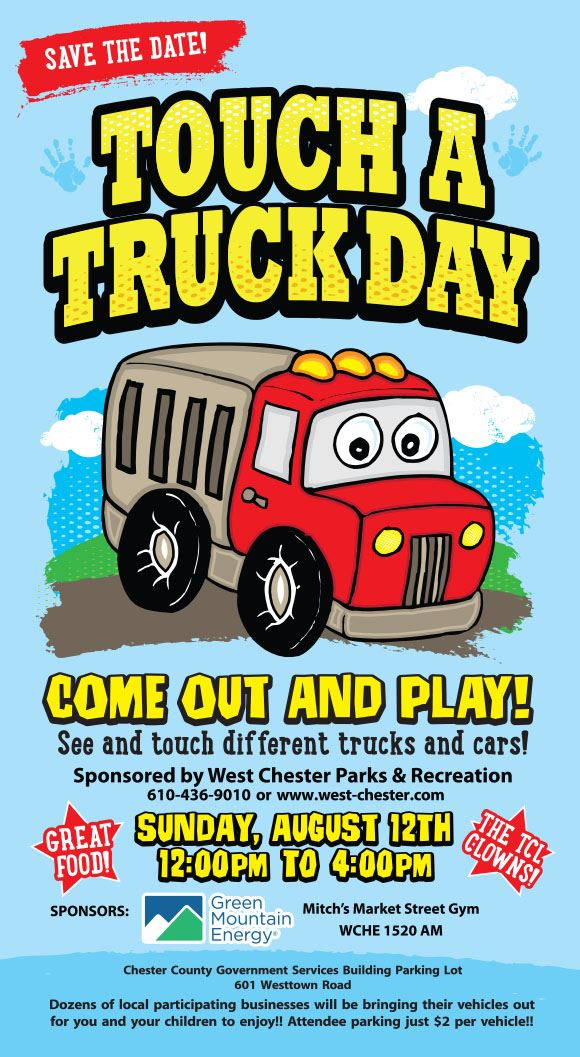 Touch a Truck Day Flyer